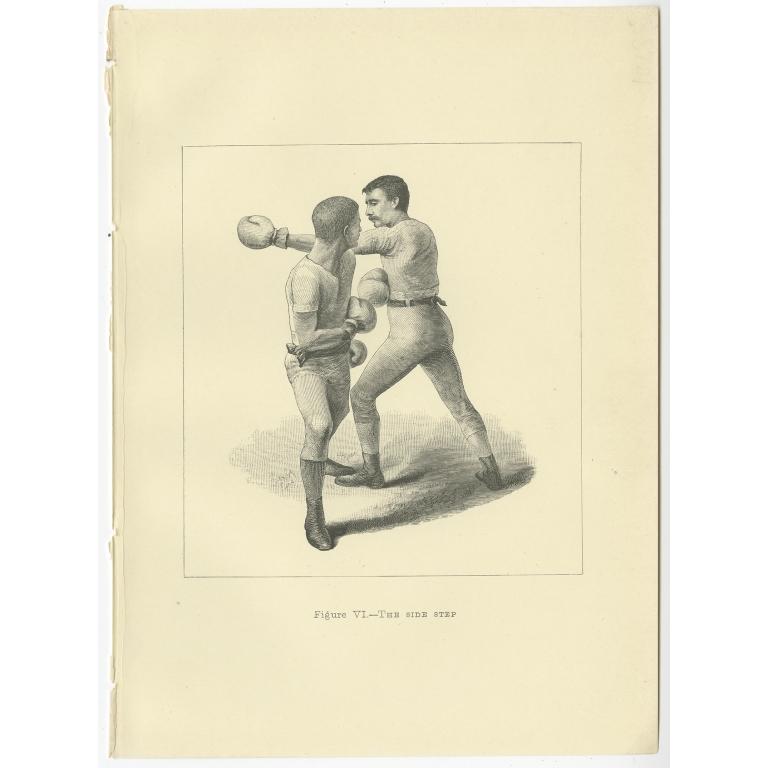 Figure VI The side step - Pollock (1889)