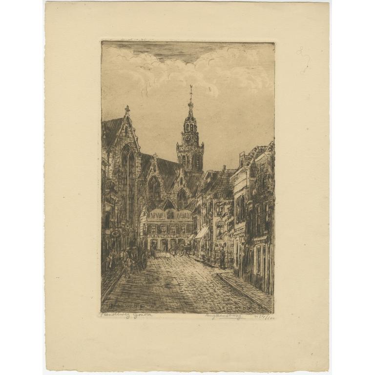 Tiendeweg Gouda - Rensburg (c.1900)