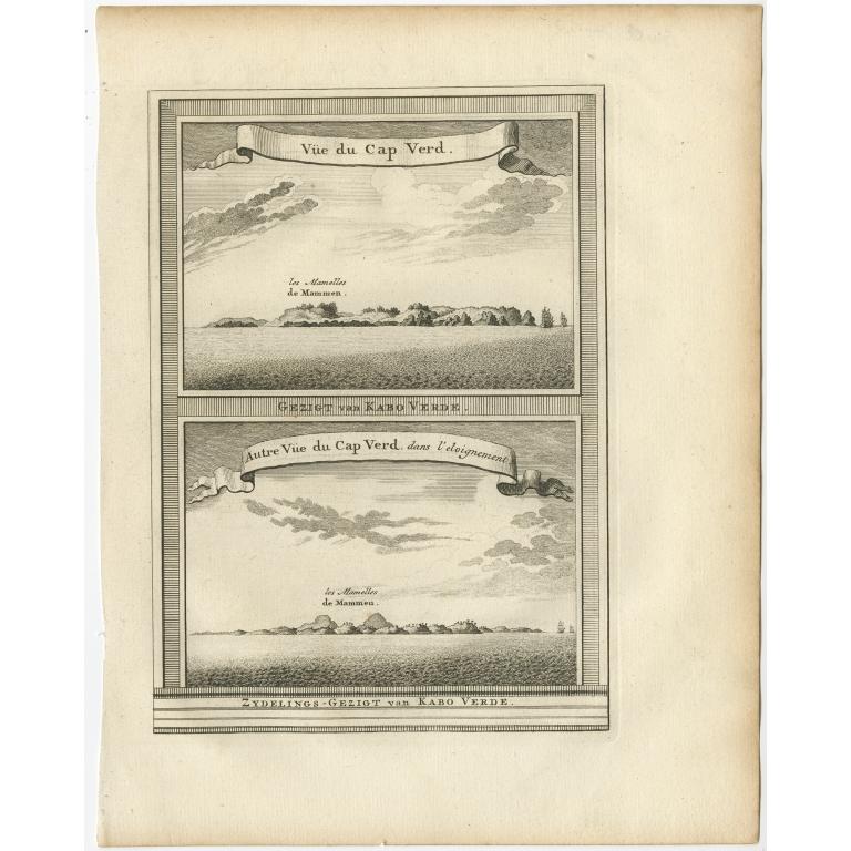 Gezigt van Kabo Verde - Van Schley (c.1750)