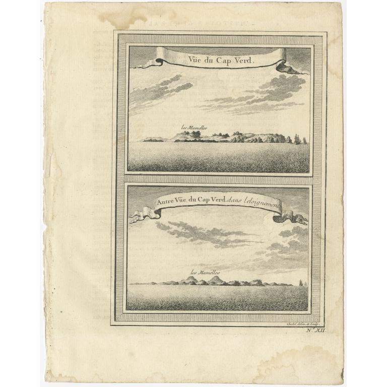 Vüe du Cap Verd - Chedel (1747)
