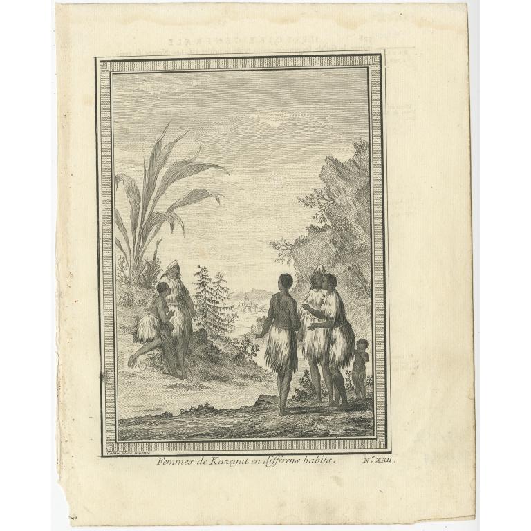 Femmes de Kazegut - Cochin (c.1750)