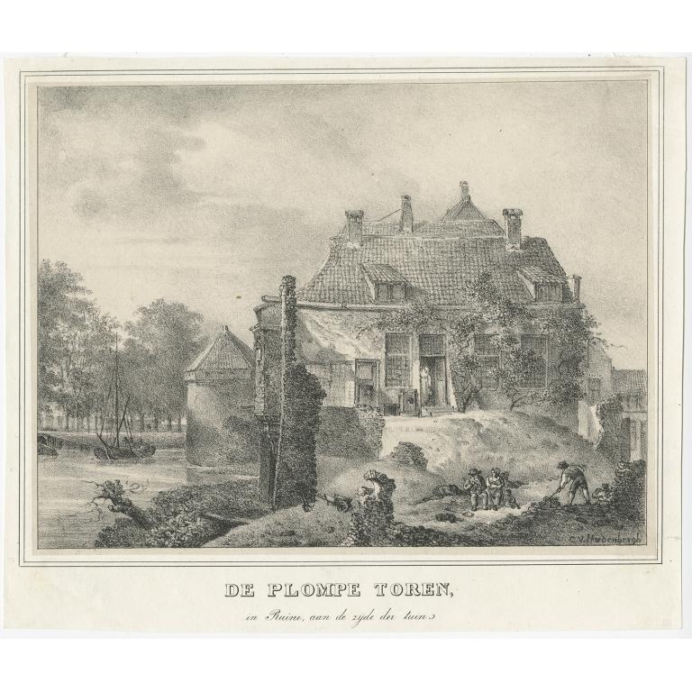 De Plompe Toren - Houtman (c.1830)