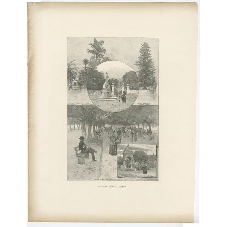 Pleasure Grounds, Sydney - Garran (c.1886)