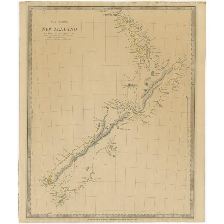 The Island of New Zealand - Walker (1838)
