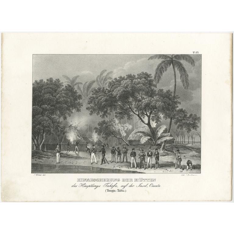 Einaescherung der Hütten - Brodtmann (c.1836)