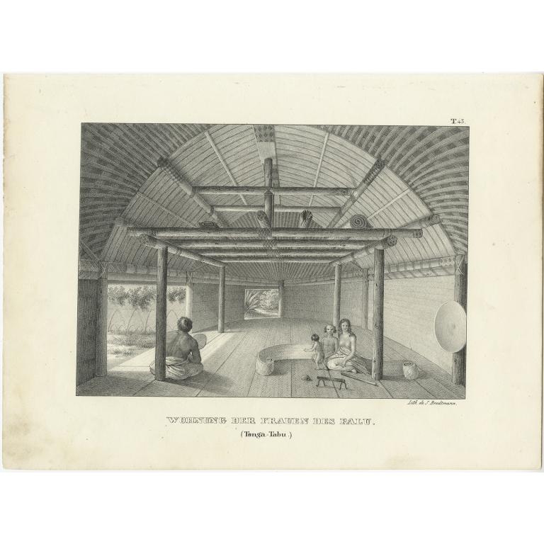 Wohnung der Frauen des Palu - Brodtmann (c.1836)