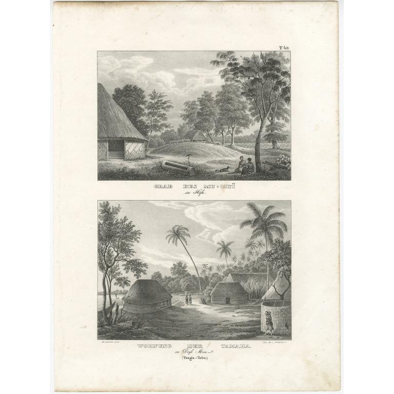 Wohnung der Tamaha - Brodtmann (c.1836)