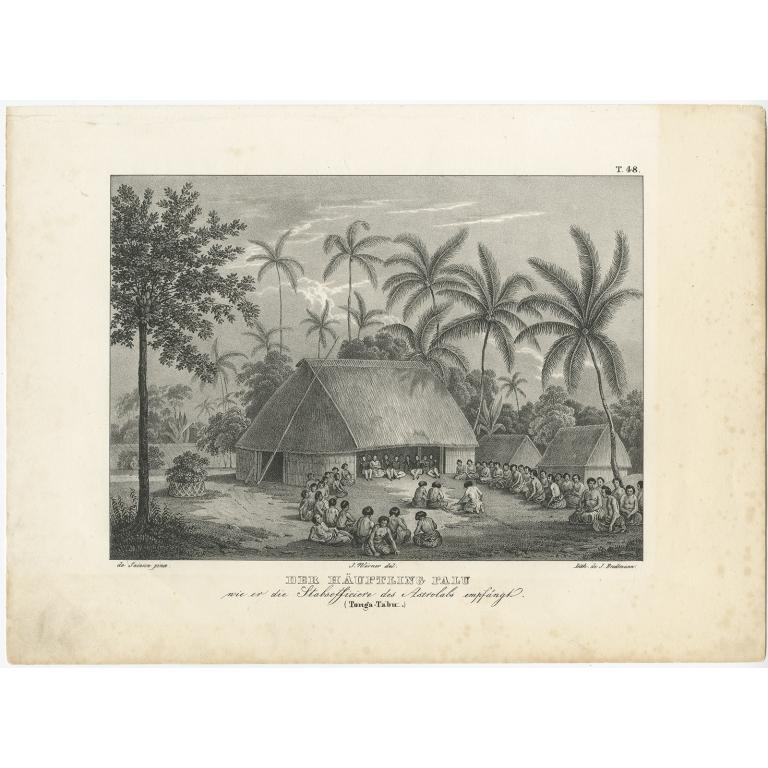 Der Häuptling Palu - Brodtmann (c.1836)