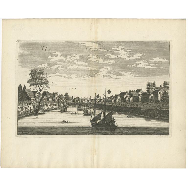 Tiencienwey - Nieuhof (1668)