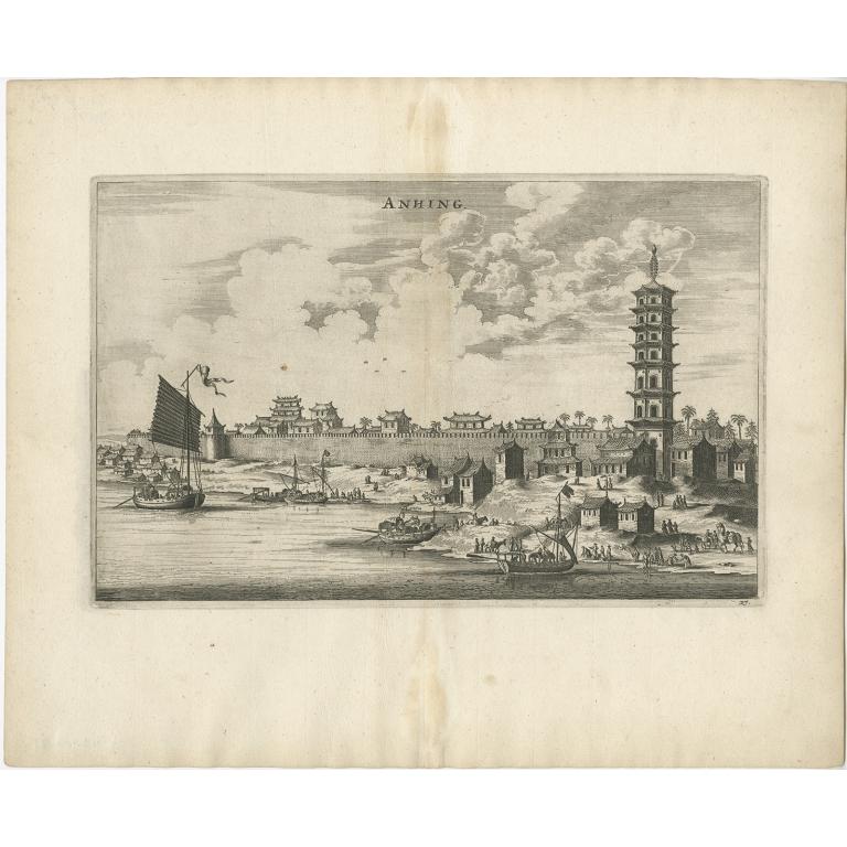 Anhing - Nieuhof (1668)