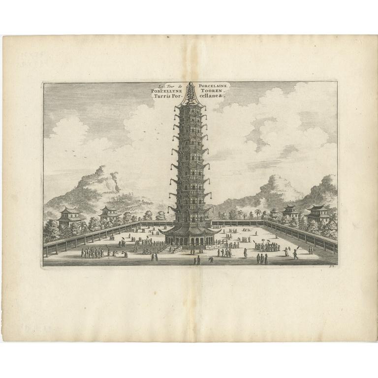 La Tour de Porcelaine - Nieuhof (1668)