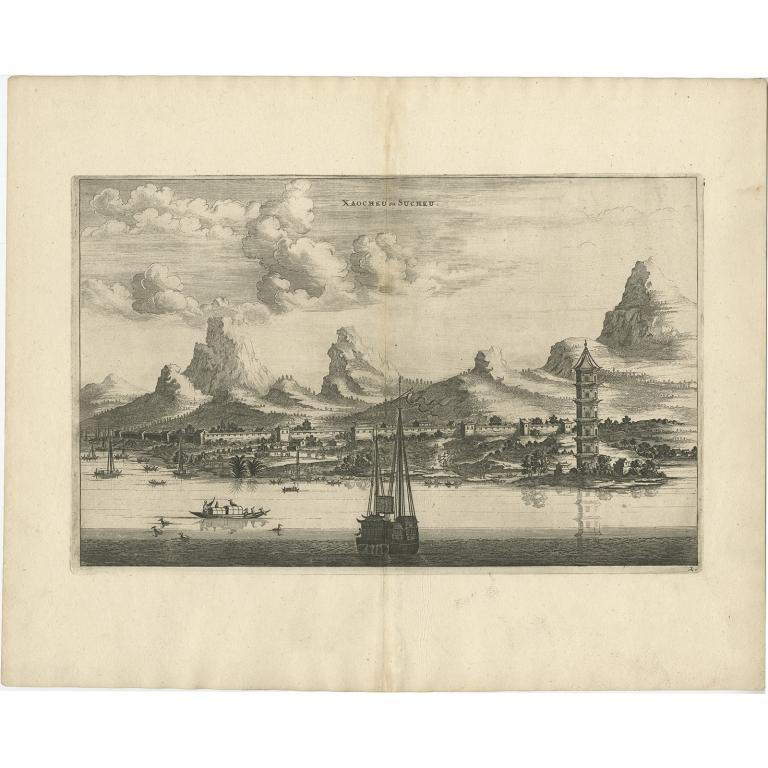 Xaocheu ou Sucheu - Nieuhof (1668)