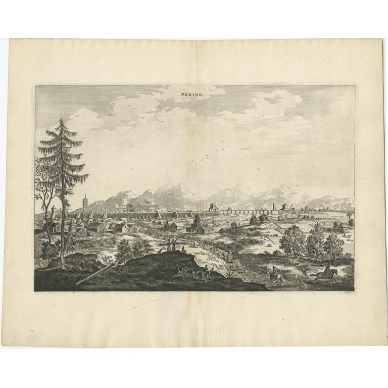 Peking - Nieuhof (1668)
