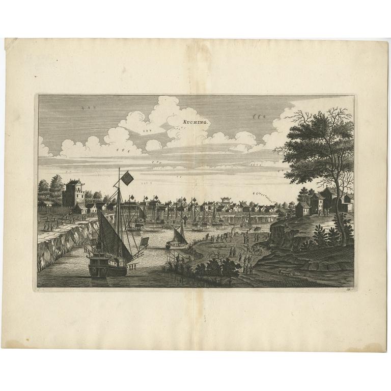 Kuching - Nieuhof (1668)