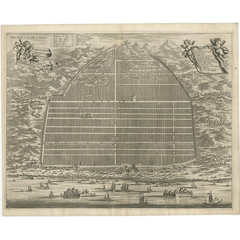 Kantonis plana effigies - Nieuhof (1668)