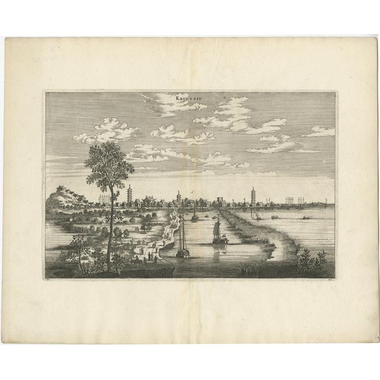 Kajutsiu - Nieuhof (1668)