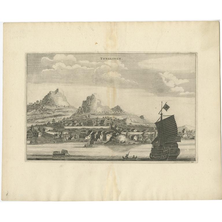 Tonglingh - Nieuhof (1668)