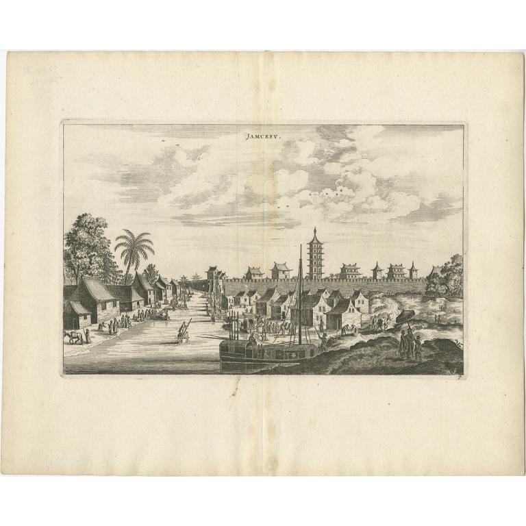 Jamcefu - Nieuhof (1668)
