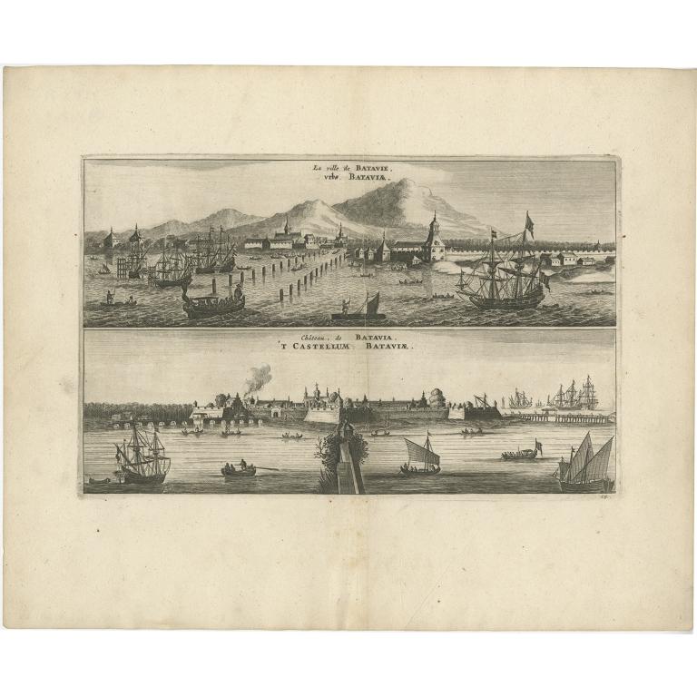 La Ville de Batavie (..) - Nieuhof (1668)