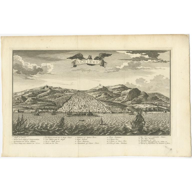 Algiers - Shaw (1773)