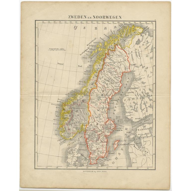 Zweden en Noorwegen - Petri (c.1873)