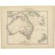 Het vaste land van Australië - Petri (c.1873)