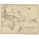 Inseln des Grossen Oceans, Australien und Polynesien - Kiepert (c.1870)