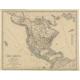 Nord-America - Kiepert (c.1870)