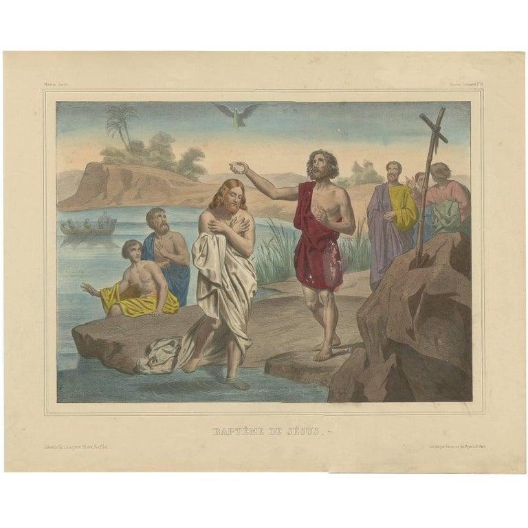 Baptême de Jésus - Becquet (c.1840)