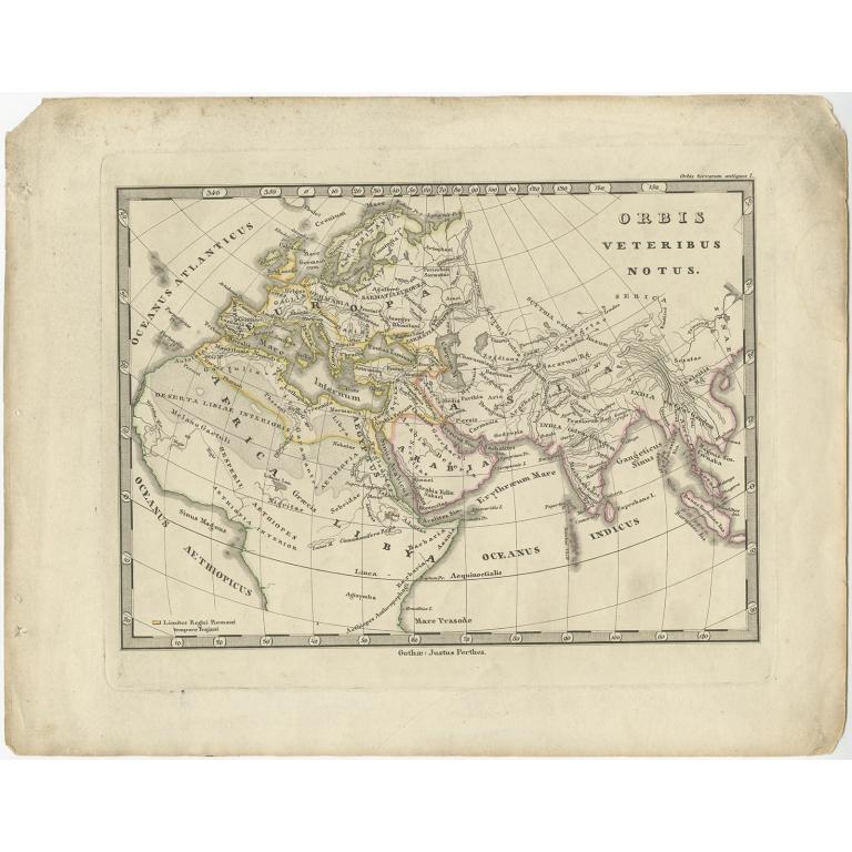 Orbis Veteribus Notus - Perthes (1848)