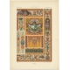 Pl. 89 Antique Print of decorative painting in France by Didot (1891)