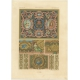 Pl. 81 Antique Print of decorative painting in France by Rachinet (1869)