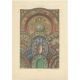 Pl. 67 Antique Print of decorative painting in France by Rachinet (1869)