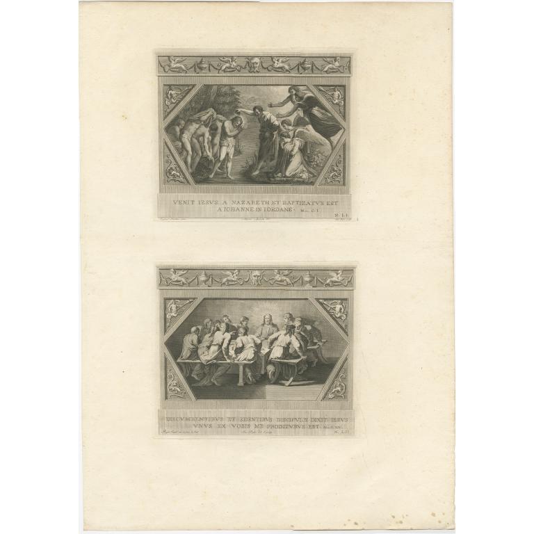 Pl. 19 Antique Religion Print by Mochetti (c.1850)