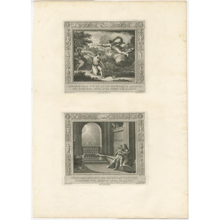 Pl. 17 Antique Religion Print by Mochetti (c.1850)