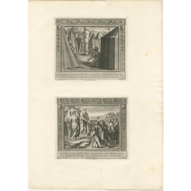 Pl. 35 Antique Religion Print by Pozzi (c.1850)