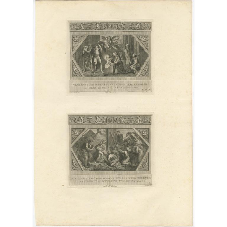 Pl. 49 Antique Religion Print by Bossi (c.1850)