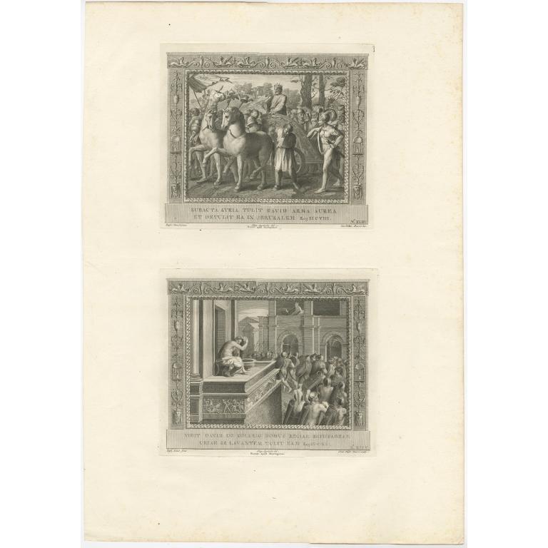 Pl. 43 Antique Religion Print by Dasori (c.1850)