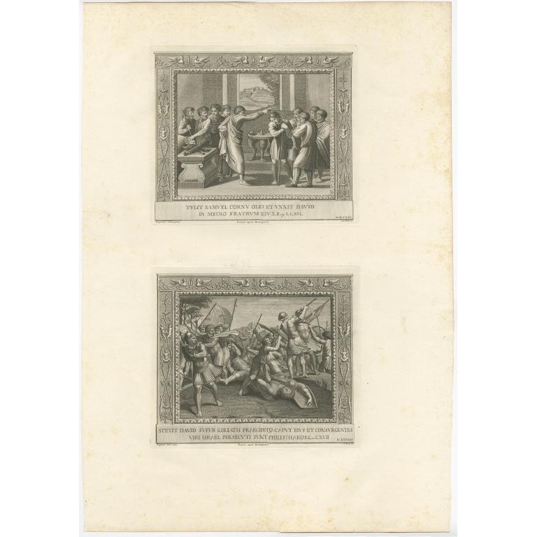 Pl. 41 Antique Religion Print by Tinti (c.1850)