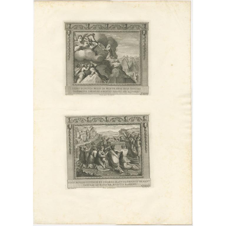 Pl. 33 Antique Religion Print by Pozzi (c.1850)