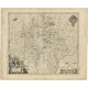 Antique Map of the region of Quercy by Janssonius (1657)