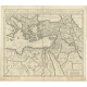 Antique Map of the Journey by Paul the Apostle by Mortier (1700)