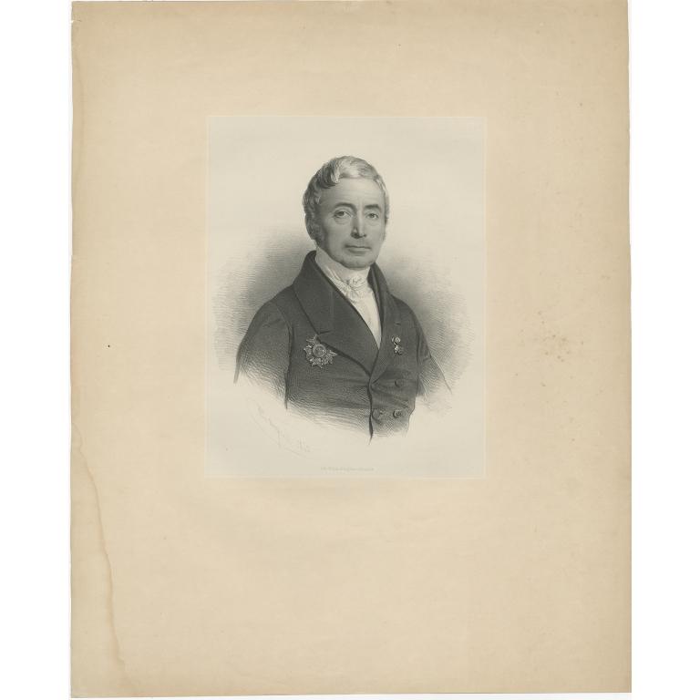 Untitled Portrait by Degobert (c.1850)