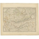 Pl. 6 Antique Map of the Region of Malwa (India) by Walker (1833)