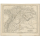 Antique Map of Colombia by Dower (c.1840)