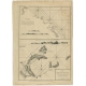 Antique Map of Quinam and the Côn Đảo Islands by Sayer (1778)