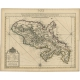 Antique Map of Martinique by Covens & Mortier (c.1750)