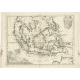 Antique Map of the East Indies by Coronelli (c.1690)