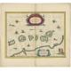Antique Map of the Moluccas by Janssonius (c.1650)