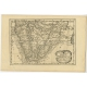 Antique Map of Egypt and Eastern Libya by De Winter (c.1680)